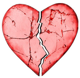 Broken Heart Betrayal Distrust